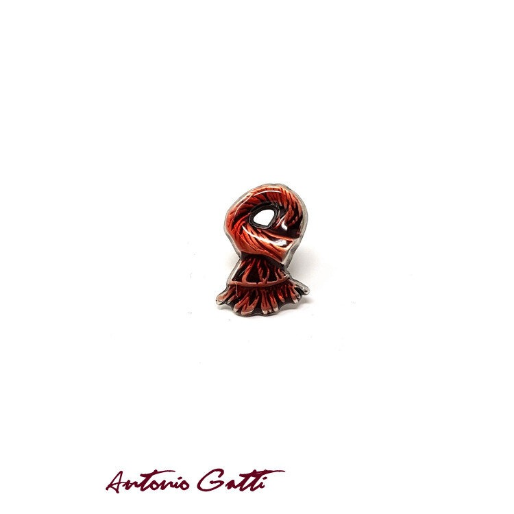 Pin Sacouri Antonio Gatti Casual Roșu