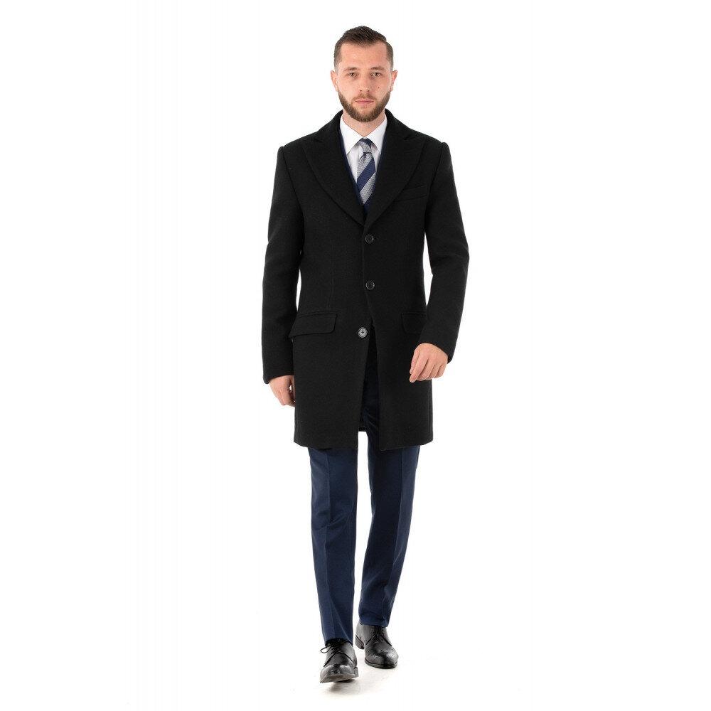 Palton Bărbați Antonio Gatti Business Lung Negru B163 SG002