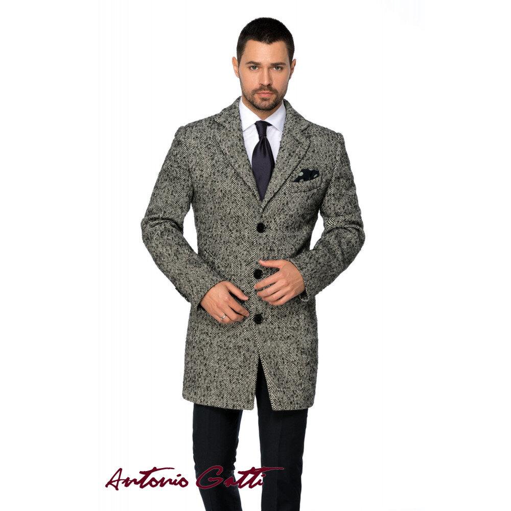 Palton Bărbați Business Antonio Gatti Lung Brăduț B157 Com06