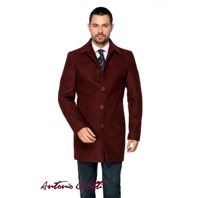 Palton Bărbați Antonio Gatti Grena Office Lung din Lana Cotta B161 Lov