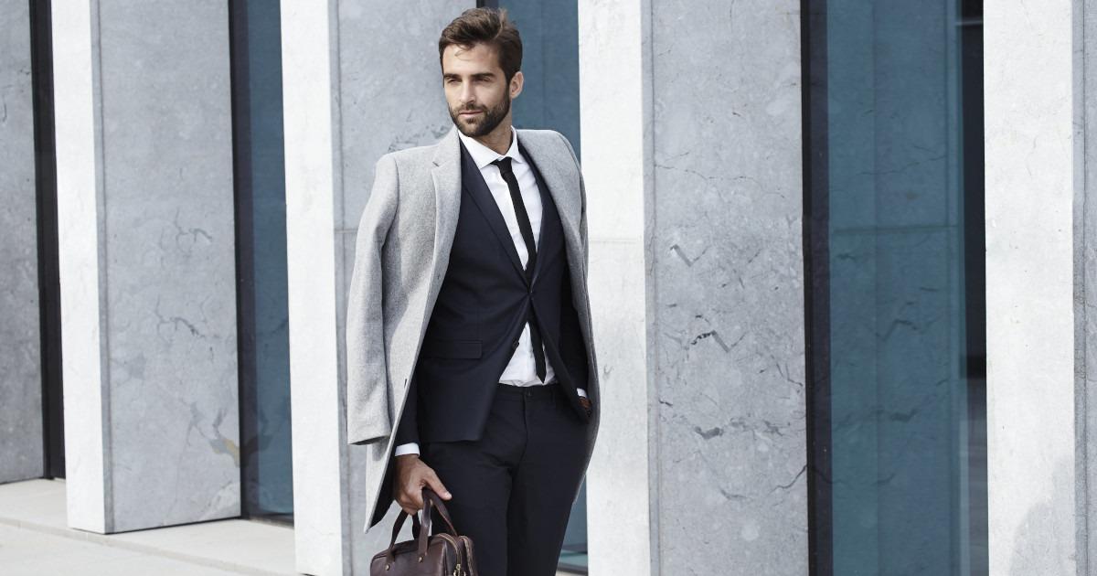 Palton Bărbați Antonio Gatti