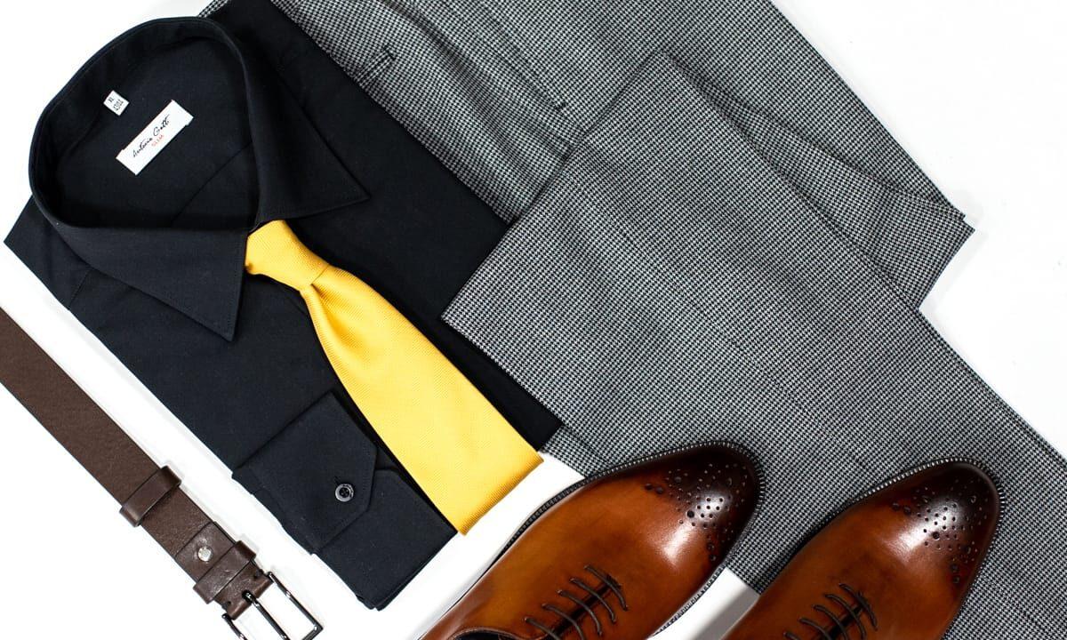 Montaj articole vestimentare pentru barbati, de la Antonio Gatti