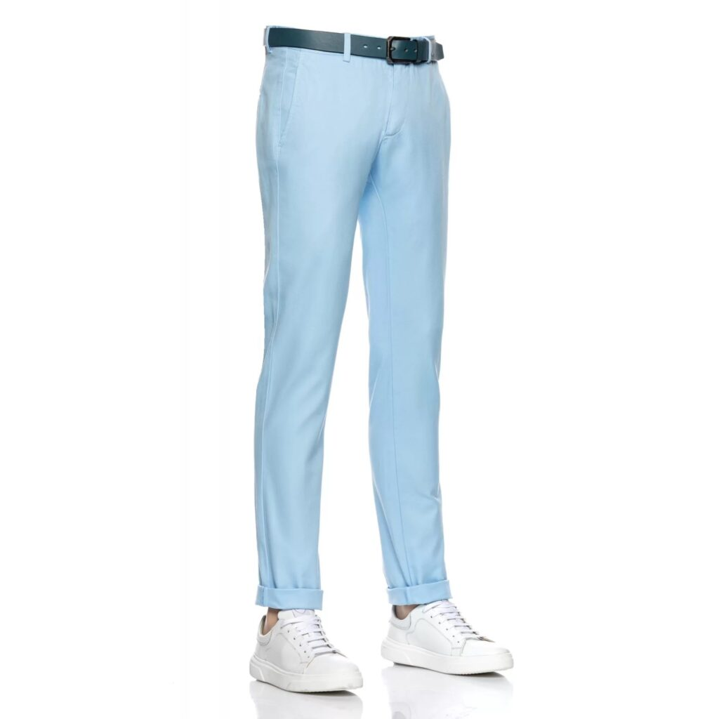 Pantaloni chino Antonio Gatti bleu