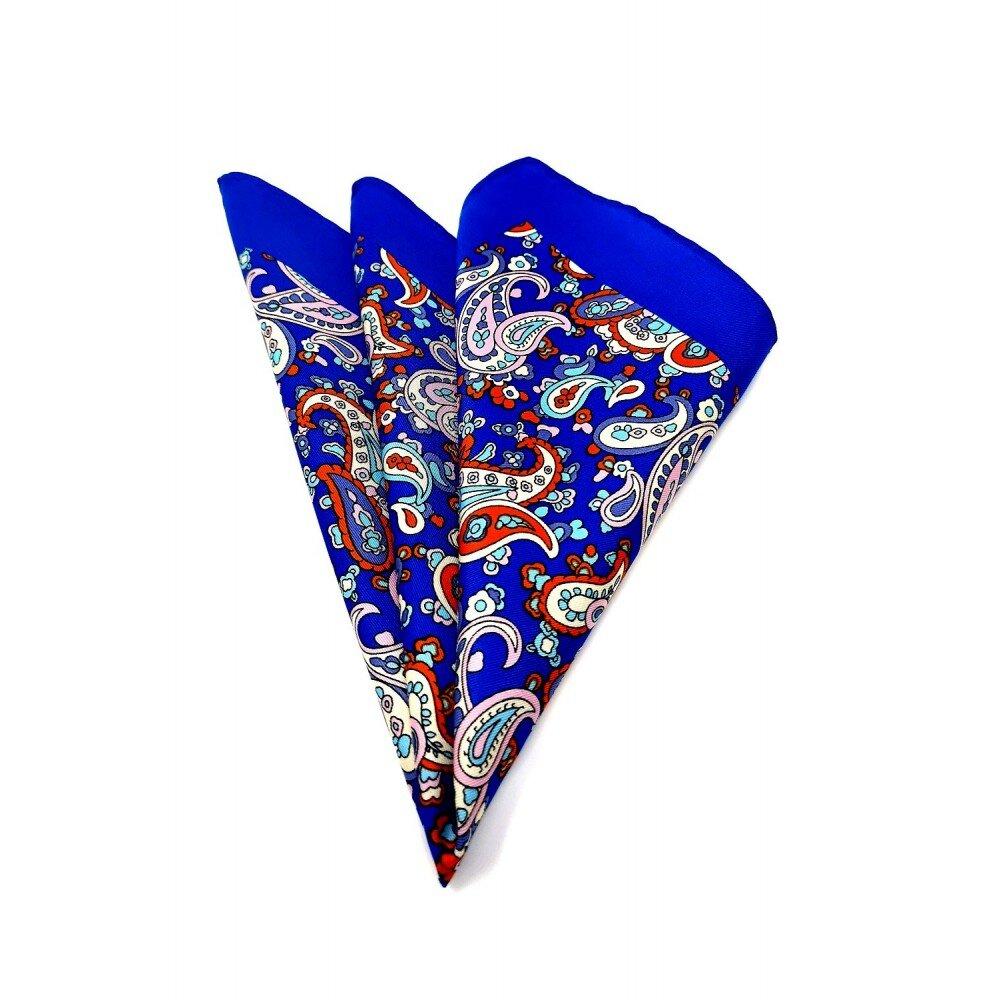 Batista barbati albastra print floral