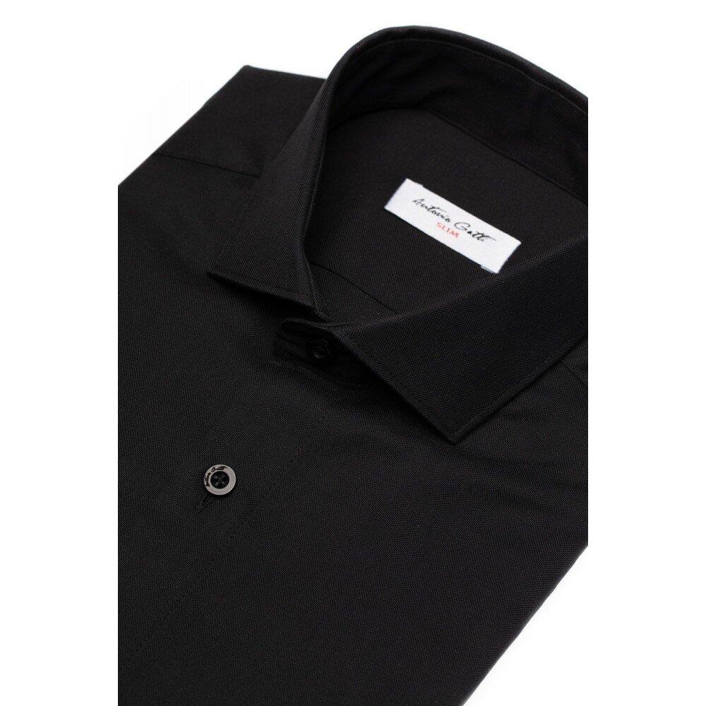 Camasa barbati slim neagra C007SL