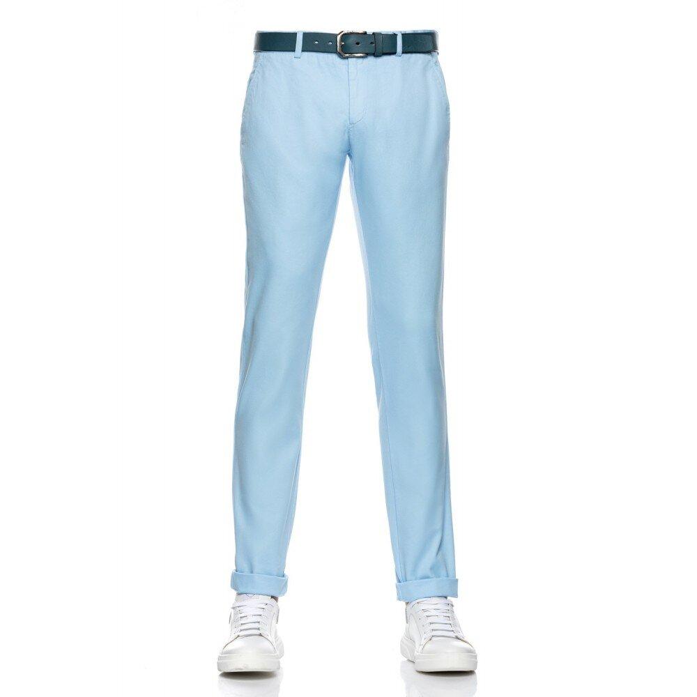 Pantaloni barbati chino bleu CH001