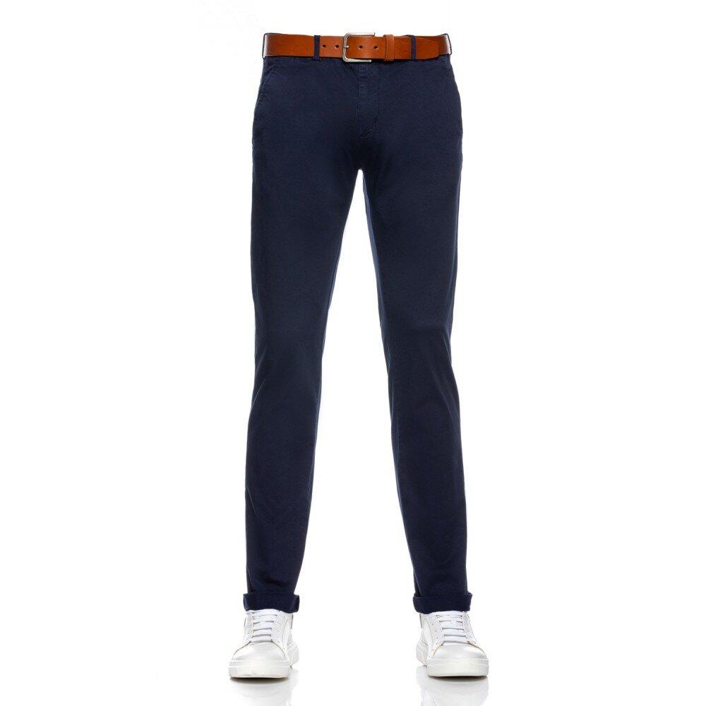 Pantaloni barbati chino bleumarin CH001