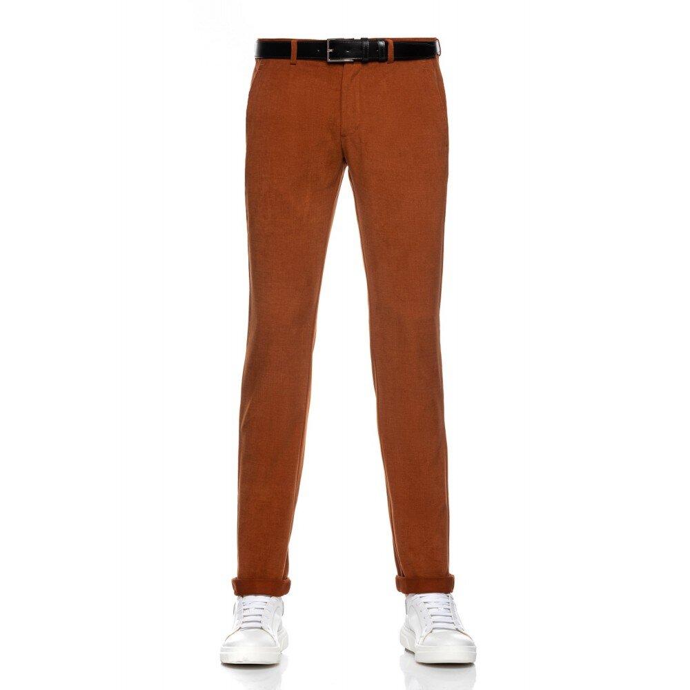 Pantaloni barbati chino maro CH001