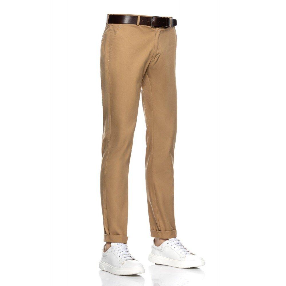 Pantaloni barbati chino bej CH001