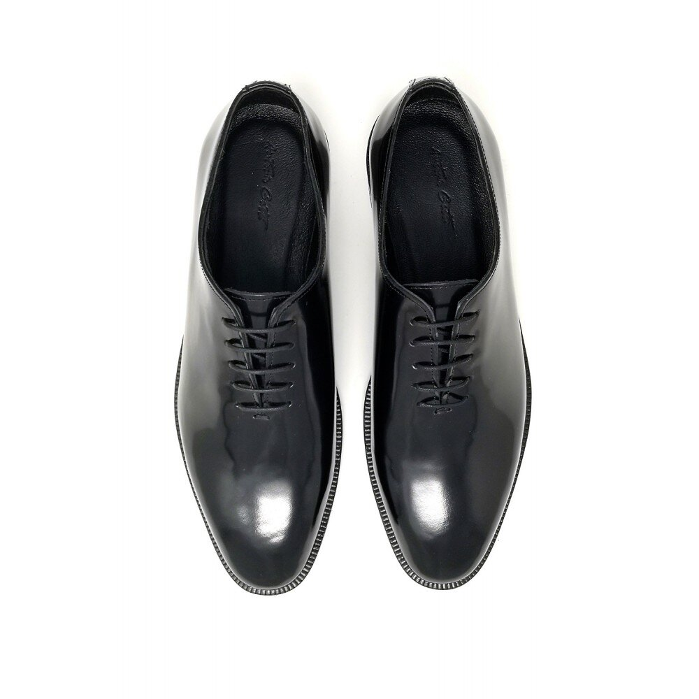 Pantofi barbati ceremonie negri din piele