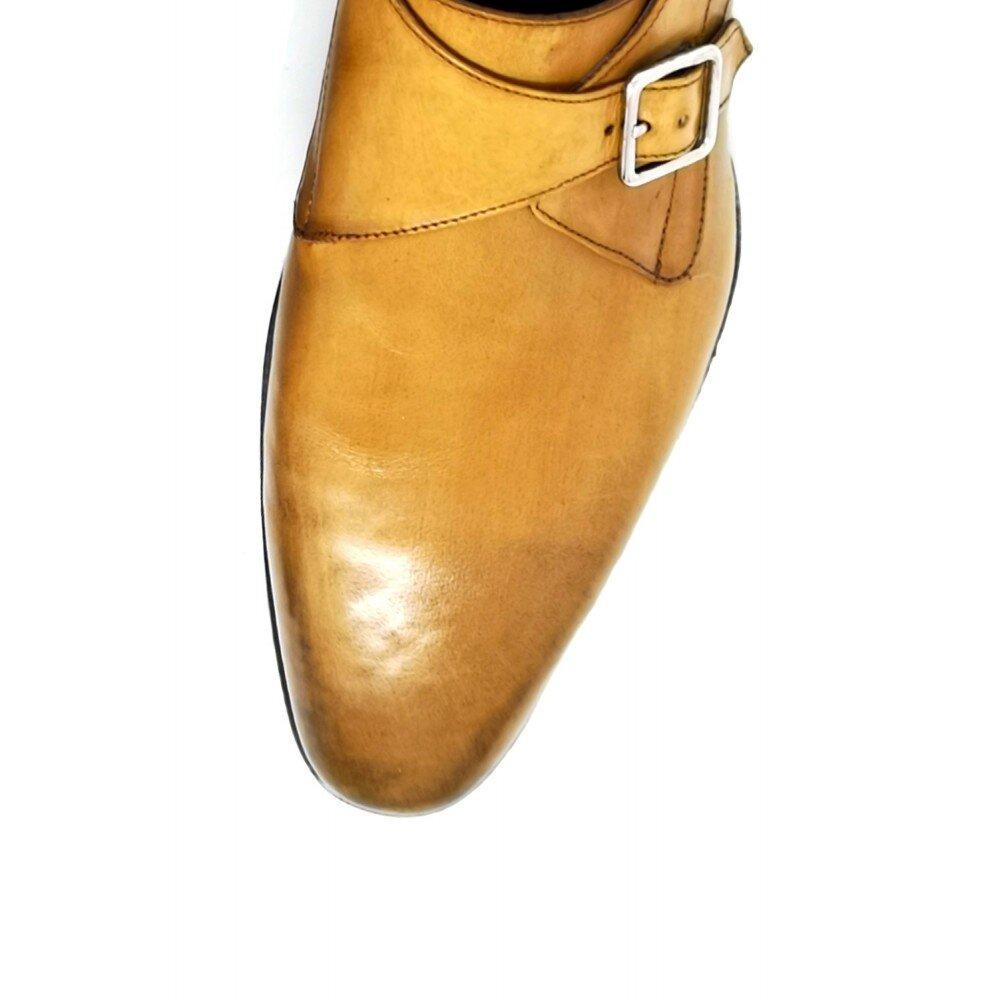 Pantofi barbati maro din piele