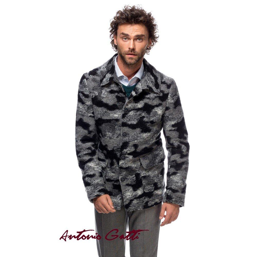 Jacheta barbati din lana cotta G018