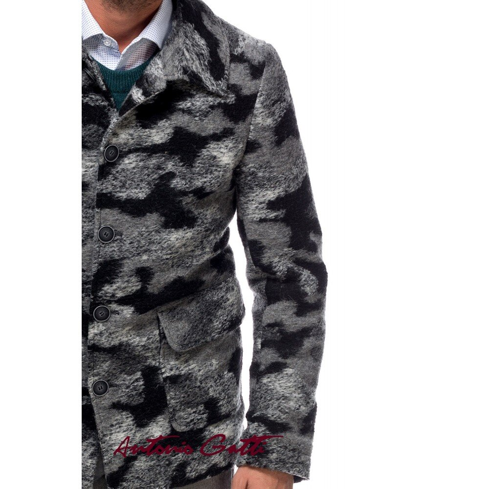 Jacheta barbati din lana cotta
