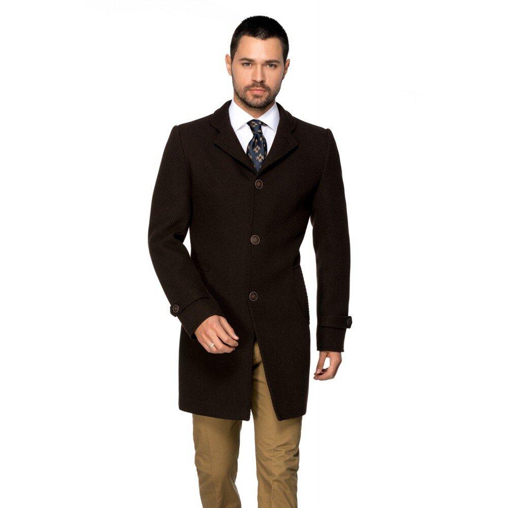 Palton barbati business maro B148