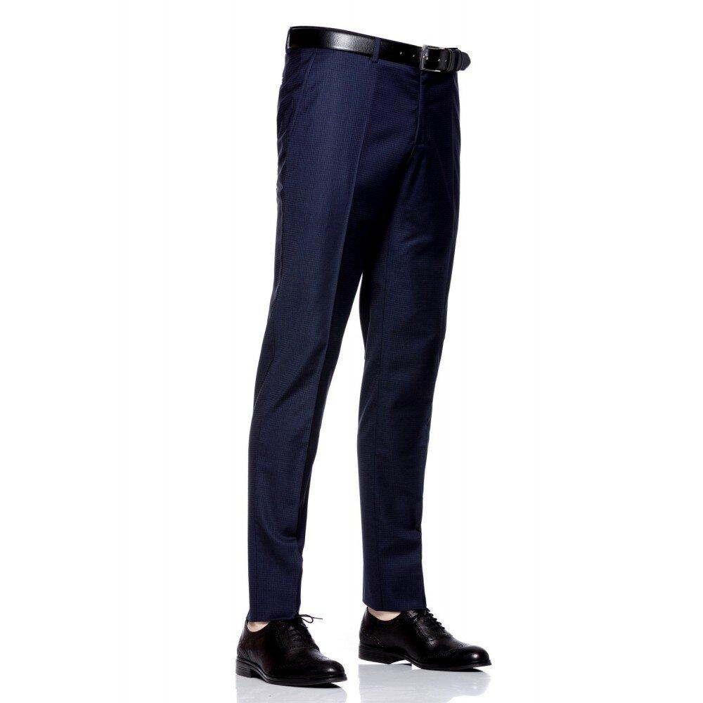 Pantaloni barbati slim bleumarin PT006