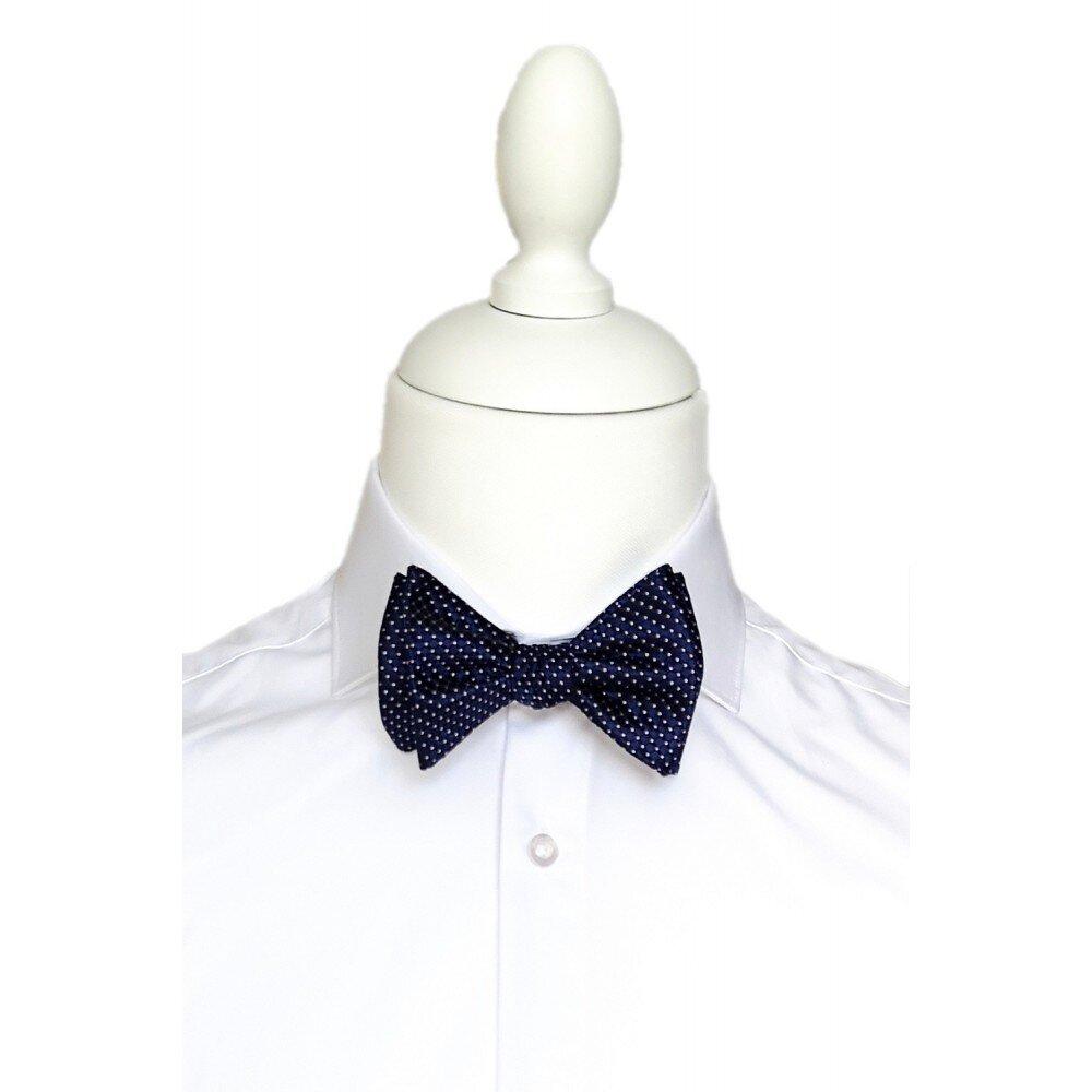 Papion barbati self tie bleumarin