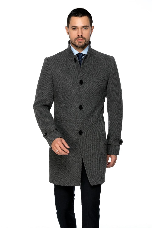 Palton Barbati Business Lung B148 Gri